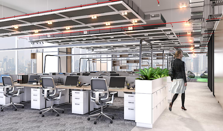 Office area:   by PT. Mimo Interior Asia