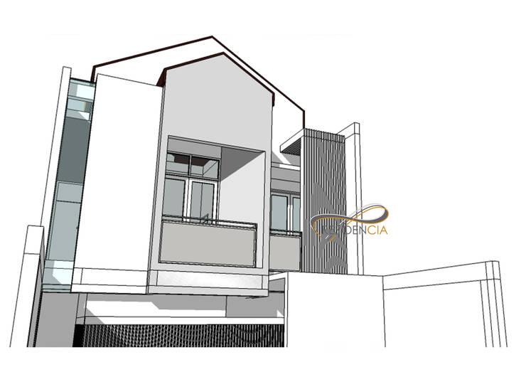 Perspektif View Fasad Lt2:   by Residencia