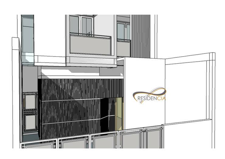 Perspektif View Fasad Lt1:   by Residencia