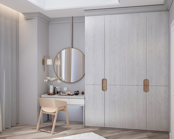 Cabinet Bedroom :   by PT. Mimo Interior Asia