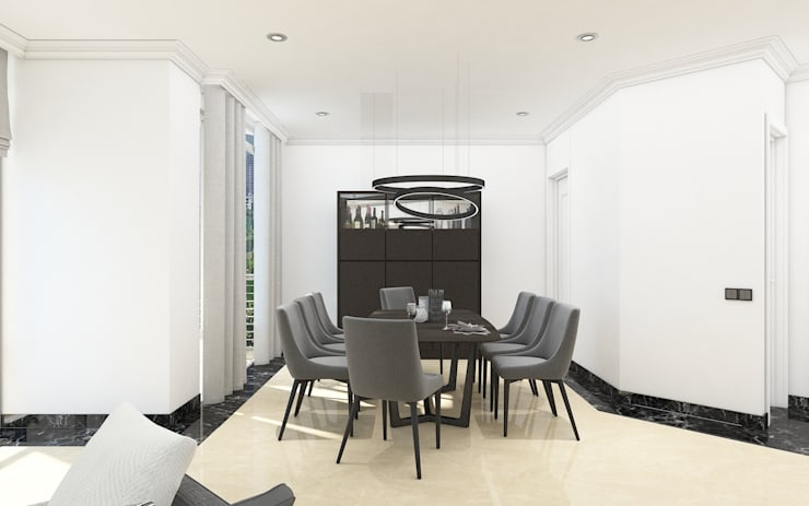 Four Seasons Apartment :   by PT. Mimo Interior Asia