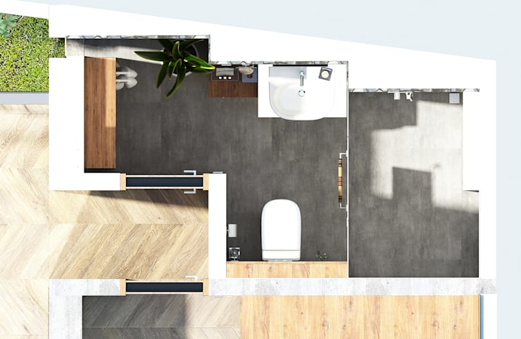 R House:   by PT. Mimo Interior Asia