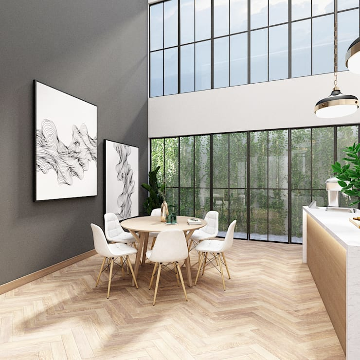 Dining Area 1:   by PT. Mimo Interior Asia