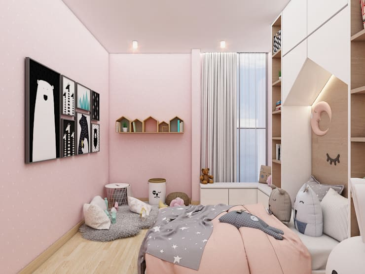 Kids Bedroom 1 :   by PT. Mimo Interior Asia