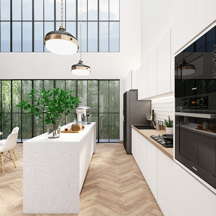 Kitchen :   by PT. Mimo Interior Asia