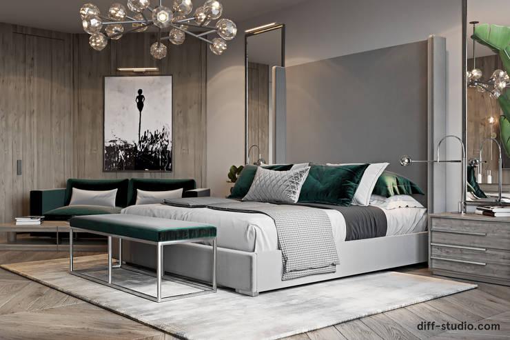 Bedroom by Diff.Studio