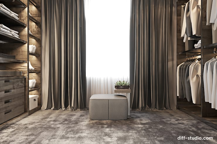 Dressing room by Diff.Studio