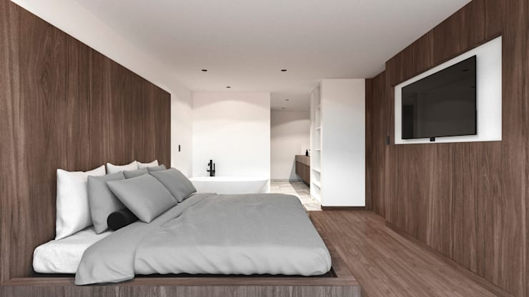 Bedroom by TW/A Architectural Group