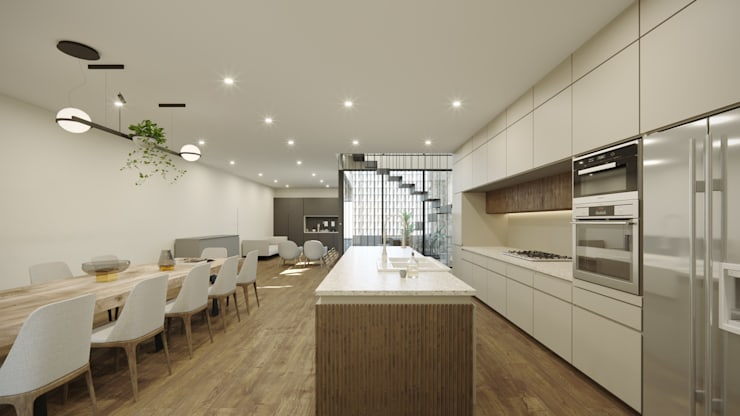 Kitchen by TW/A Architectural Group