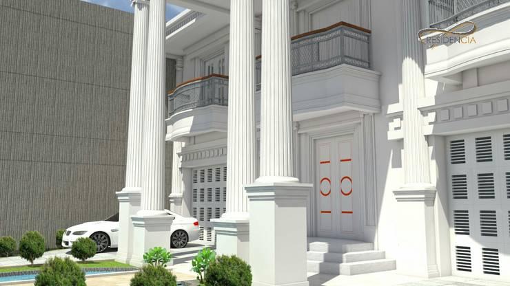Lobby pintu masuk utama:   by Residencia