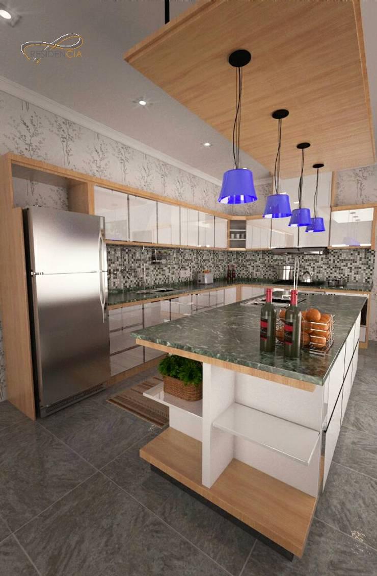 Kitchen Island RF1:   by Residencia