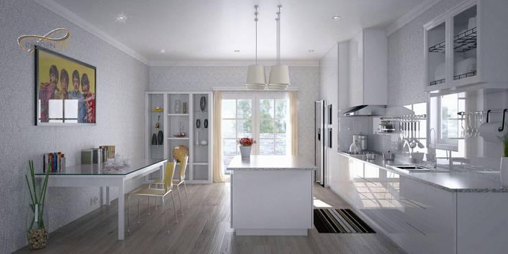 Kitchen Island RF2:   by Residencia