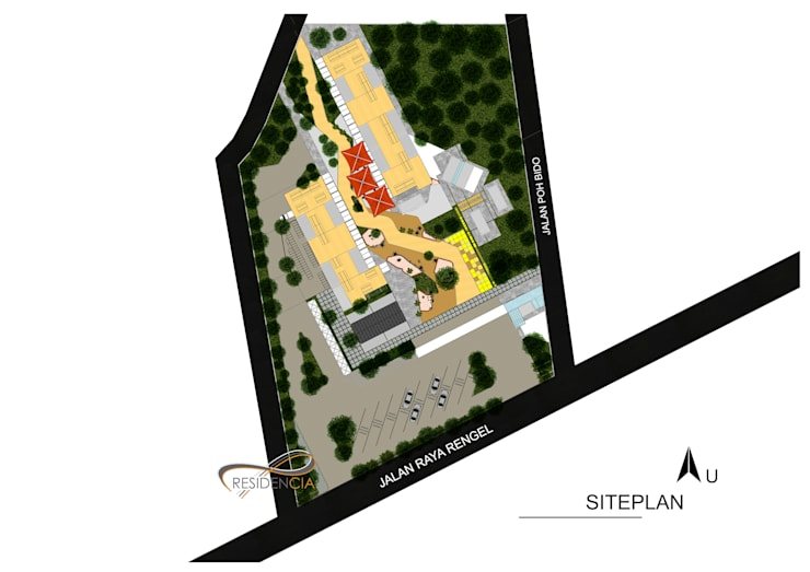 Siteplan:   by Residencia