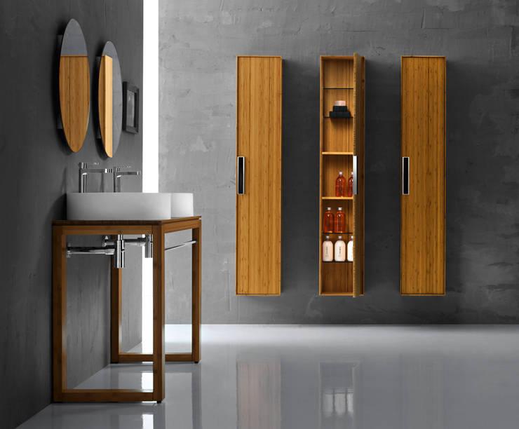 modern  oleh Lineabeta, Modern Bambu Green