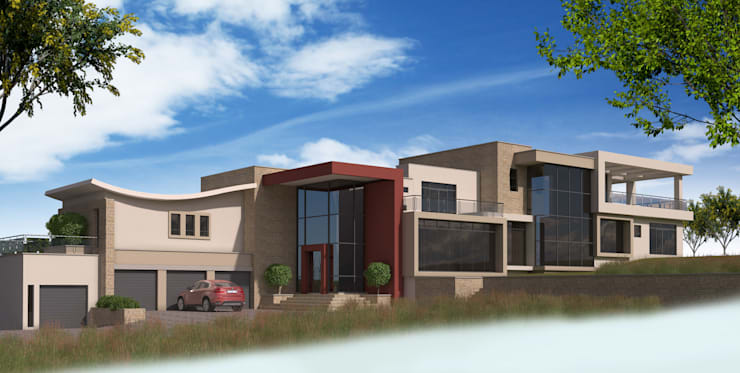 Residential Design Eye Of Africa:  Houses by Red Square Architectural Studio