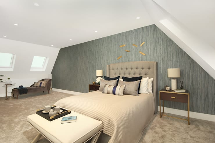 Finchley Central Modern style bedroom by New Images Architects Modern
