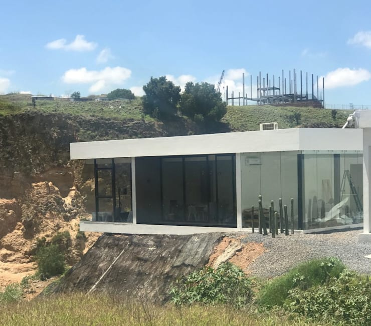 Tu lugar: Casas de estilo  por VillaSi Construcciones