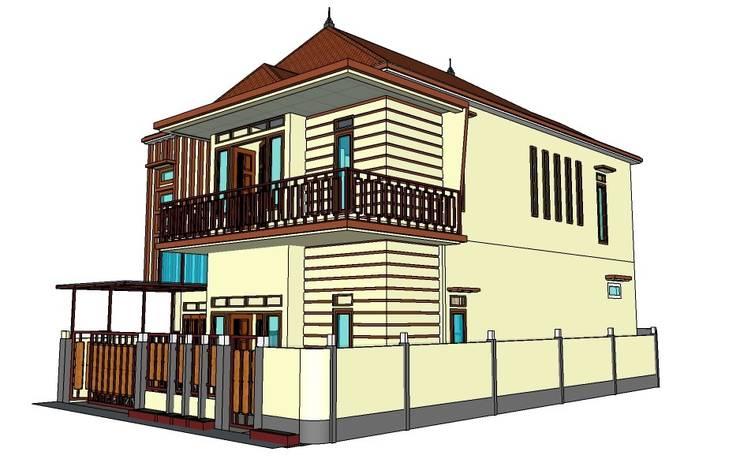Perspektive Design :  Rumah tinggal  by MODE KARYA