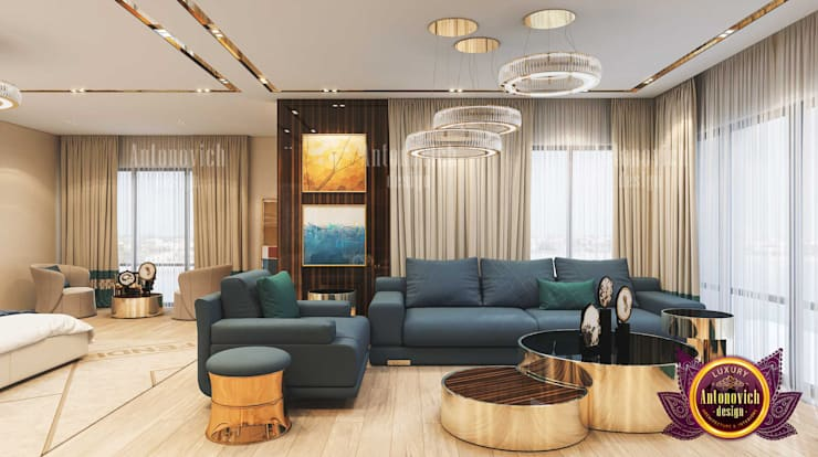 Neat Bedroom Interior:   by Luxury Antonovich Design