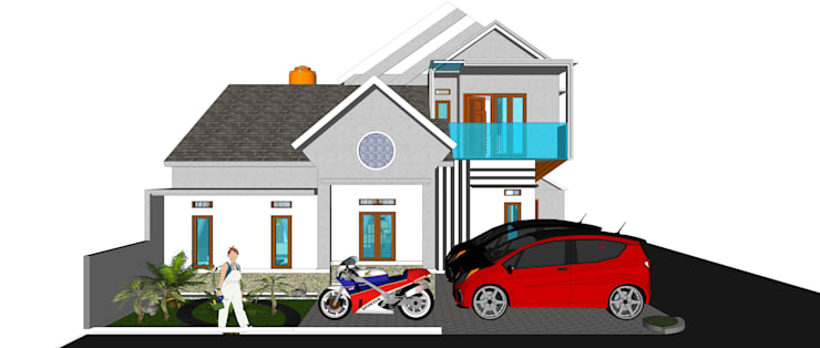 FRONT VIEW :   by MODE KARYA