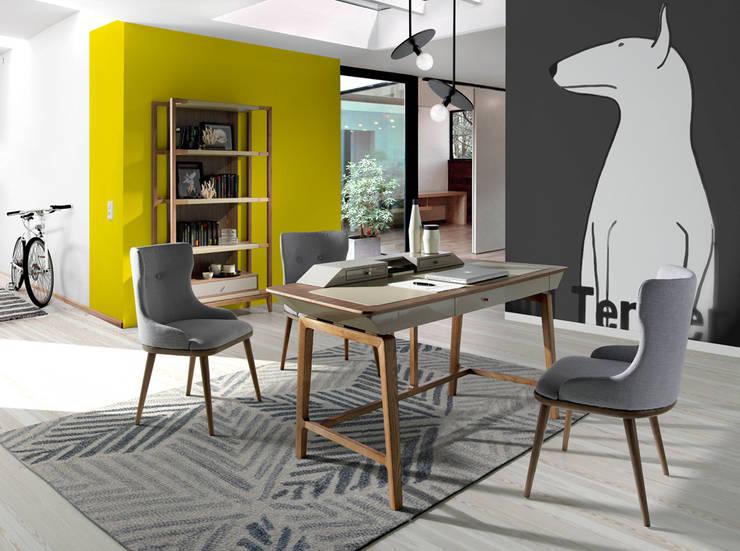 Despacho de diseño con muebles de la colección Atelier by Angel Cerdá: Estudio de estilo  de ANGEL CERDA