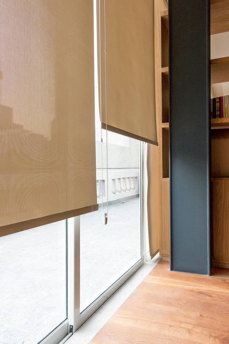Accesorio ideal para las ventanas de INVELO Moderno Textil Ámbar/Dorado