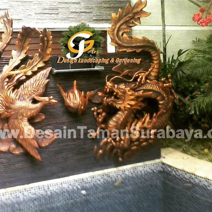 ORNAMEN PAHATAN dan UKIRAN:  Dinding by Tukang Taman Surabaya - Tianggadha-art