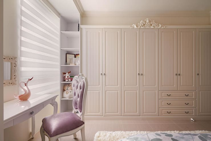 衣櫃的新生命:  女孩房 by 趙玲室內設計