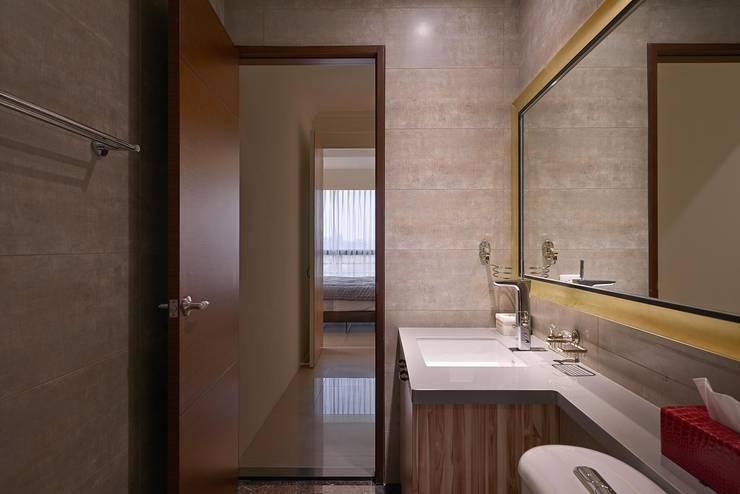 衛浴設計:  浴室 by 趙玲室內設計