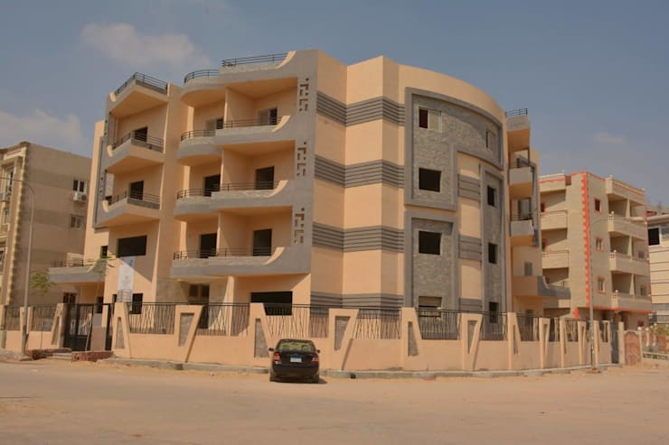عمارة سكنية :  منازل تنفيذ 4walls, حداثي