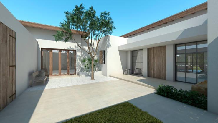 Casa en Pilara: Casas unifamiliares de estilo  por SB arquitectura