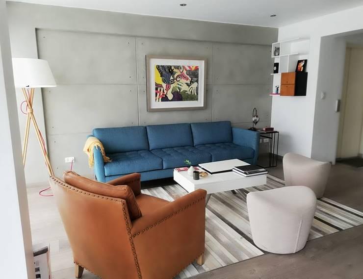Departamento en Miraflores:  de estilo  por Alicia Ibáñez Interior Design