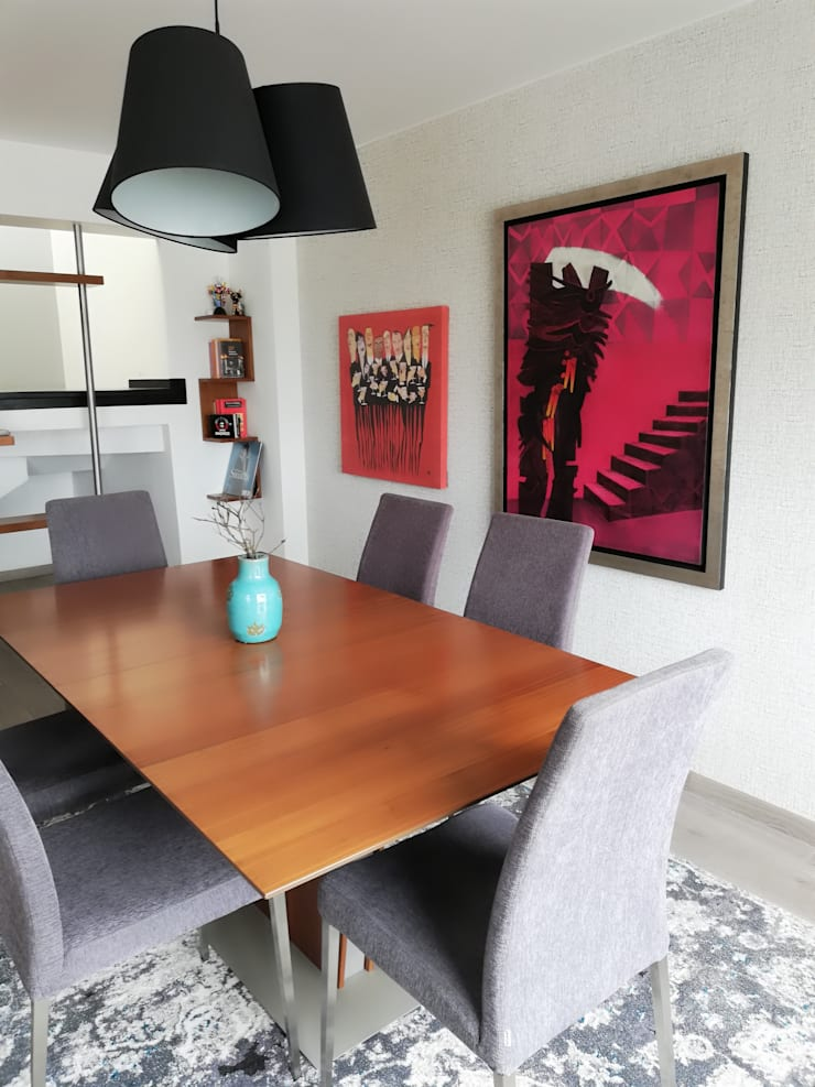 Comedor de Alicia Ibáñez Interior Design Moderno
