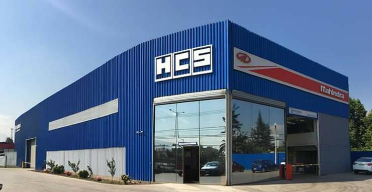 Servicio Automotriz HCS: Concesionarias de automóviles de estilo  por Fercap Construcciones