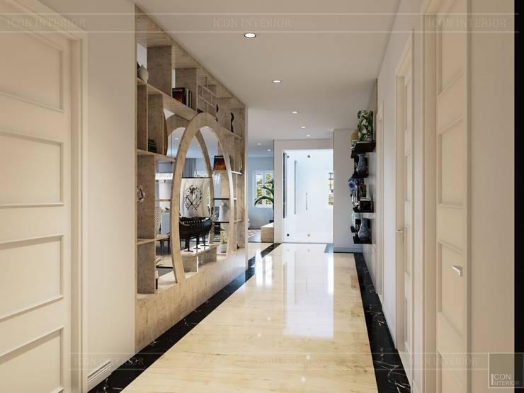 Hơi thở hiện đại cho Thiết kế nội thất Villa sành điệu hơn – ICON INTERIOR:  Cửa ra vào by ICON INTERIOR
