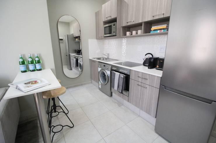 Rosebank Airbnb Design:  Kitchen by Design Air
