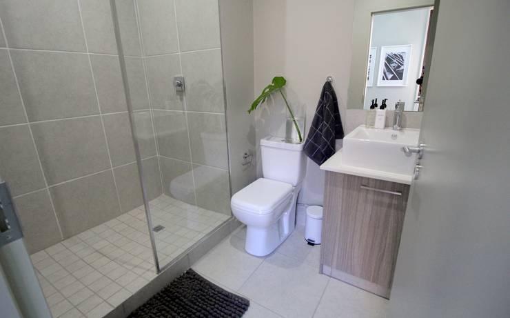 Rosebank Airbnb Design:  Bathroom by Design Air