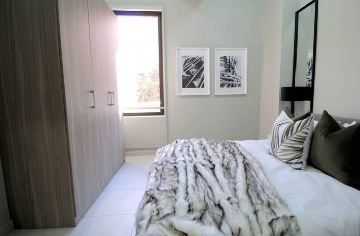 Rosebank Airbnb Design:  Bedroom by Design Air