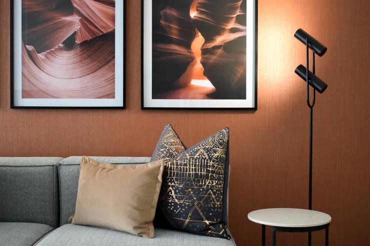 Serviced Rentals Lobby: minimalist  by Design Air, Minimalist
