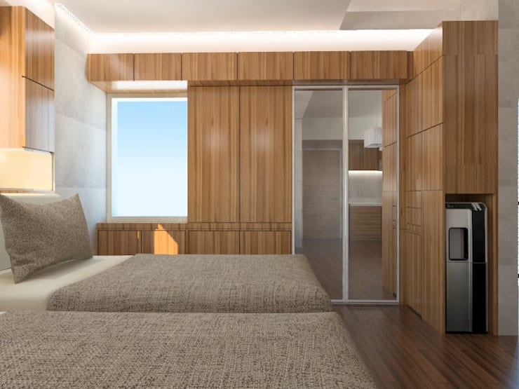 Kamar Tidur 2 :   by Tatami design