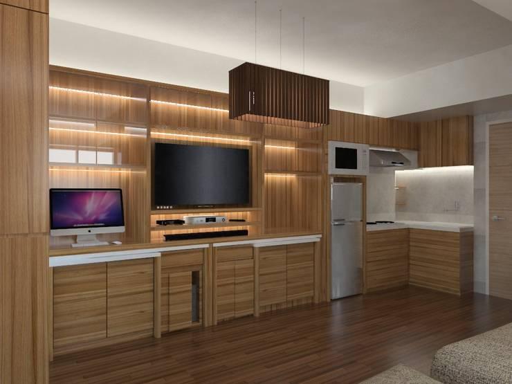 Ruang Santai:   by Tatami design