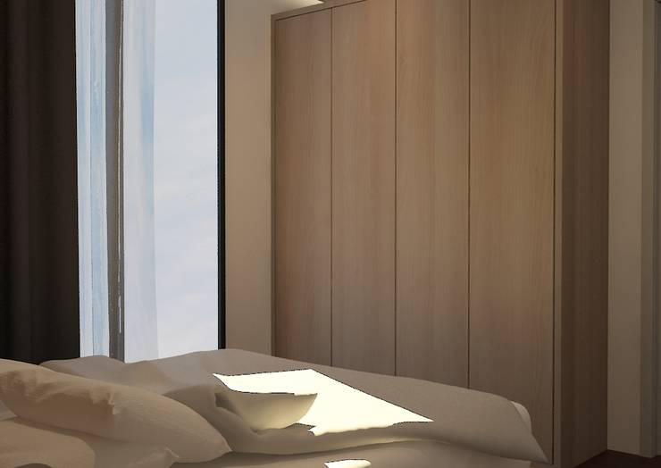 Design awal Kamar tidur 1:   by Tatami design