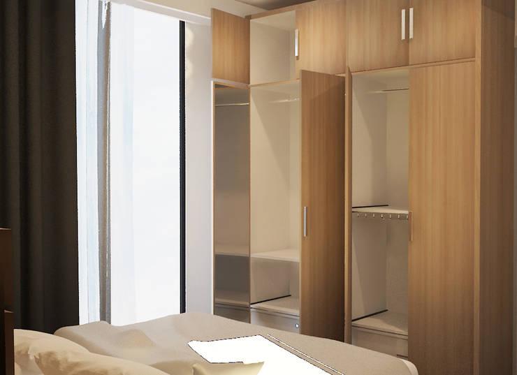 Design awal Kamar tidur  2:   by Tatami design