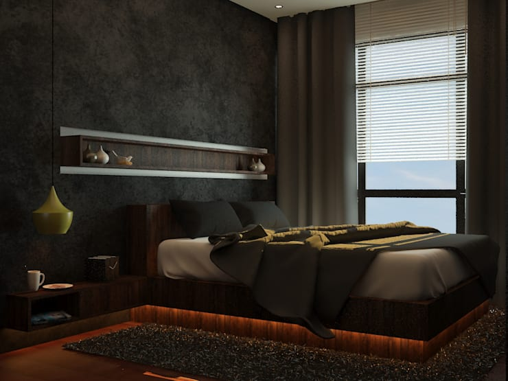 Bedroom 4:   by Tatami design
