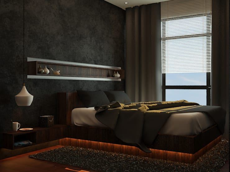 Bedroom 5:   by Tatami design