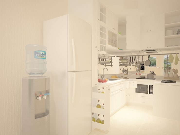 Kitchen Set :   by Tatami design
