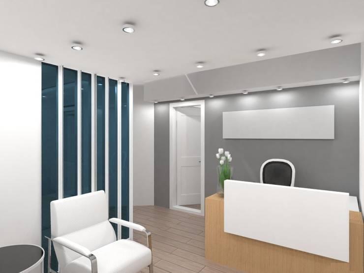 Oficinas - Microcentro:  de estilo  por Arquimundo 3g - Diseño de Interiores - Ciudad de Buenos Aires,