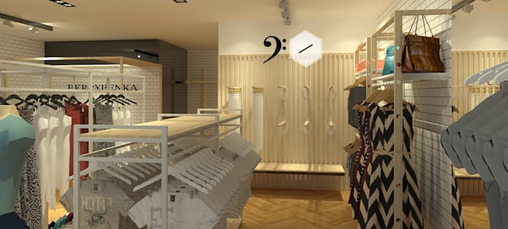 Clothes Store By Tatami Design :   by Tatami design