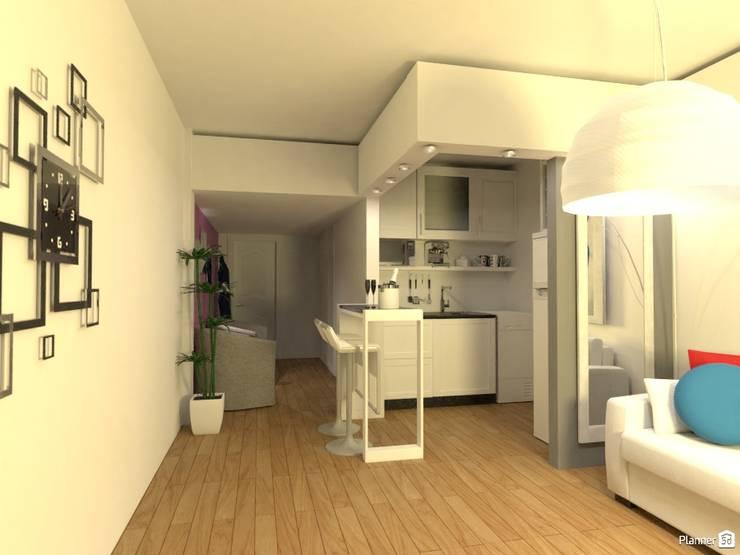 Arquimundo 3g - Diseño de Interiores - Ciudad de Buenos Airesが手掛けたキッチン