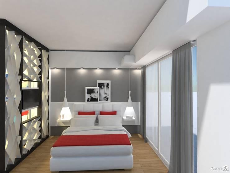 Arquimundo 3g - Diseño de Interiores - Ciudad de Buenos Airesが手掛けた寝室